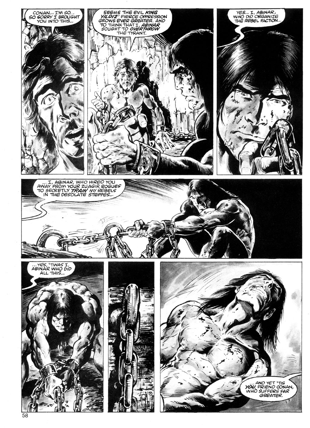 The Savage Sword Of Conan Issue #91 #92 - English 54