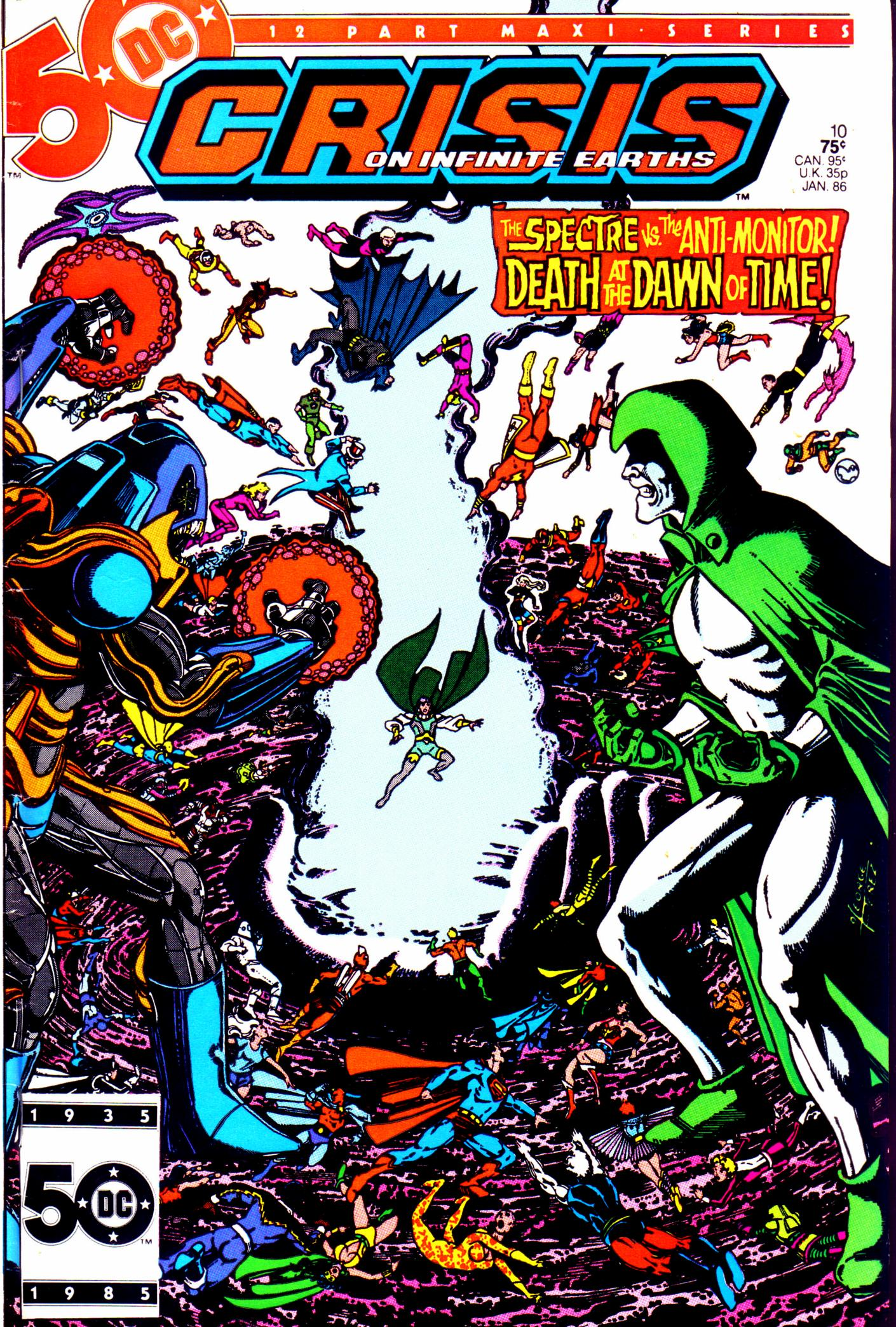 Crisis on Infinite Earths (1985) 10 Page 1