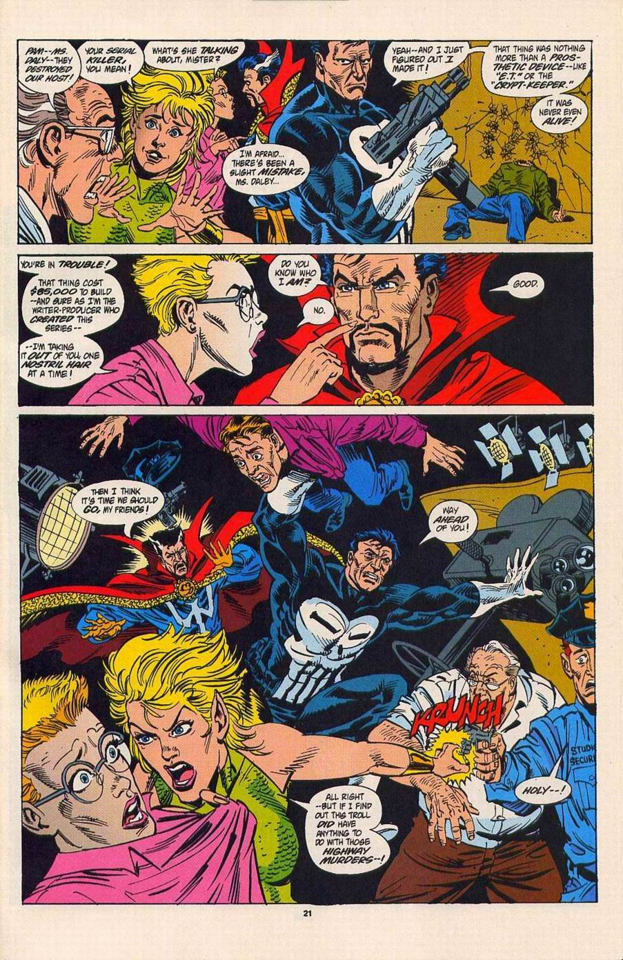 Read online Secret Defenders comic -  Issue #4 - 16