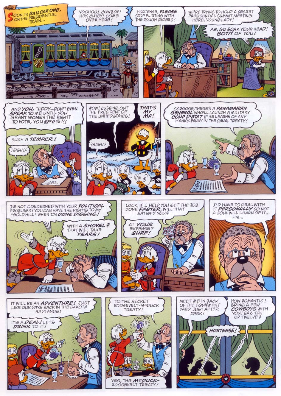 Uncle Scrooge (1953) Issue #332 #332 - English 8