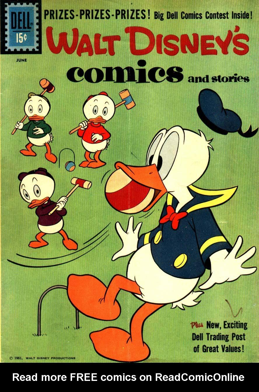 Walt Disneys Comics and Stories 249 Page 1