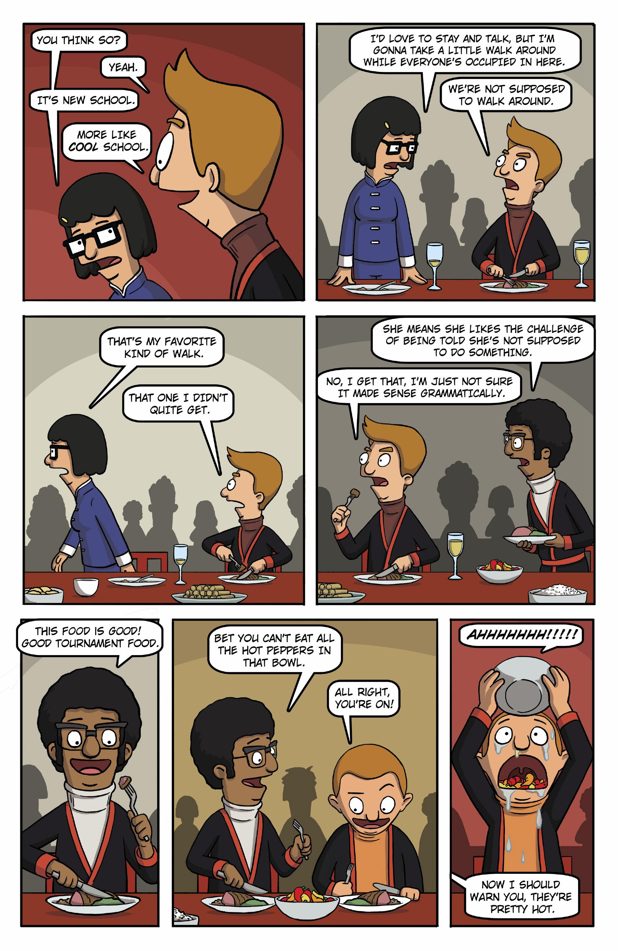Read online Bob's Burgers (2015) comic -  Issue #13 - 11
