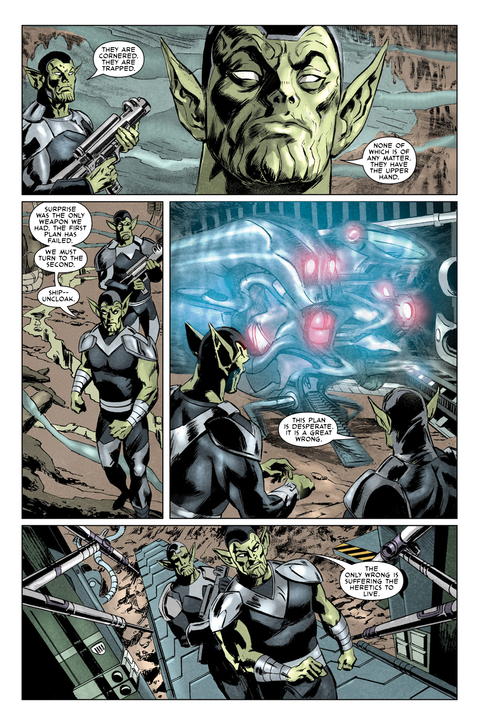 Read online Secret Invasion Aftermath: Beta Ray Bill - The Green of Eden comic -  Issue # Full - 21