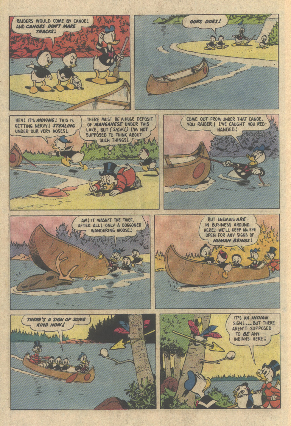 Uncle Scrooge (1953) Issue #208 #208 - English 8