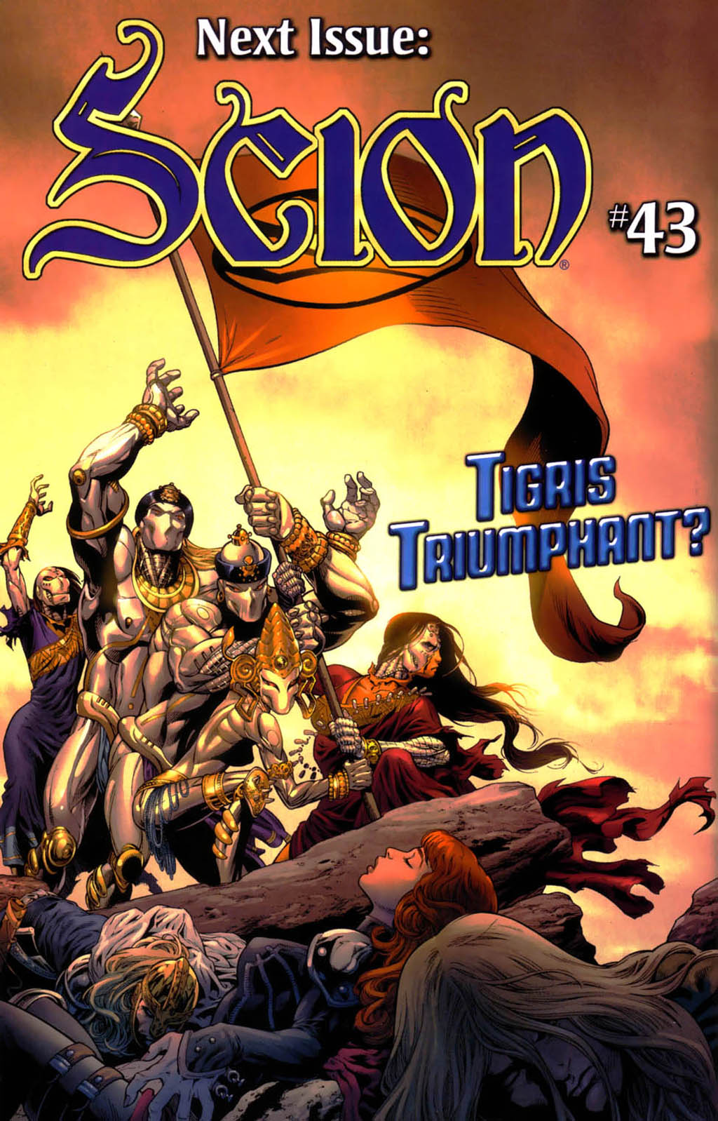 Read online Scion comic -  Issue #42 - 21
