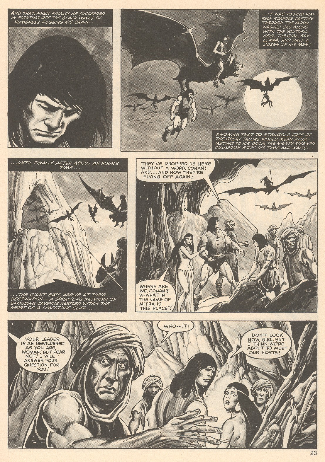 The Savage Sword Of Conan Issue #76 #77 - English 23