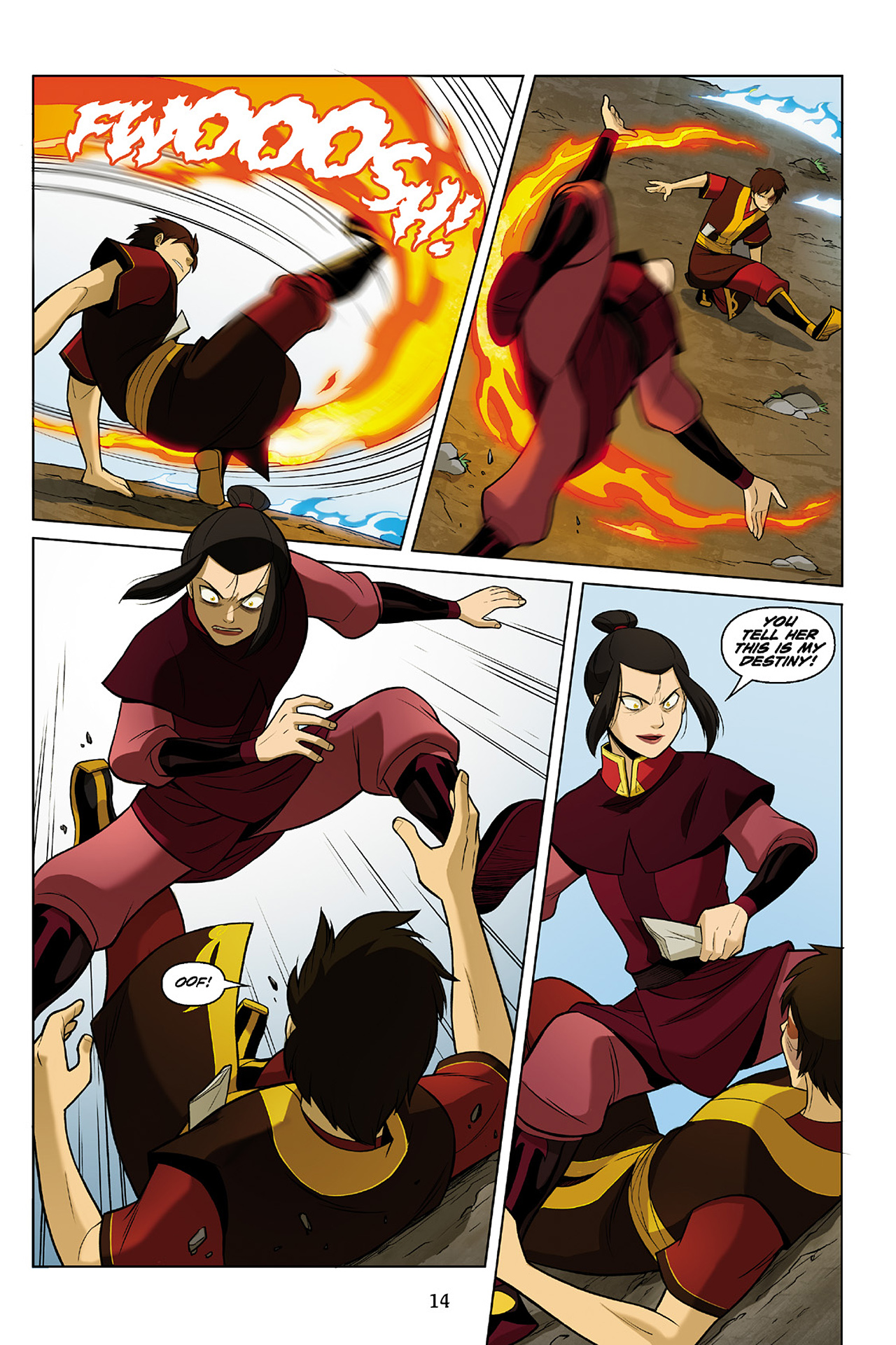 Read online Nickelodeon Avatar: The Last Airbender - The Search comic -  Issue # Part 2 - 15