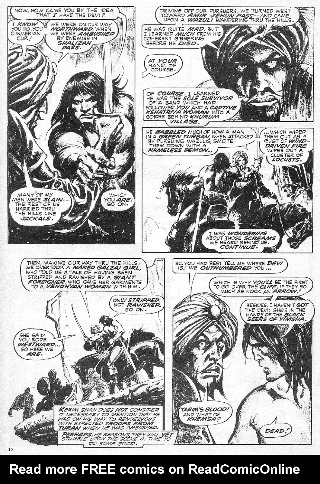 The Savage Sword Of Conan Issue #18 #19 - English 12