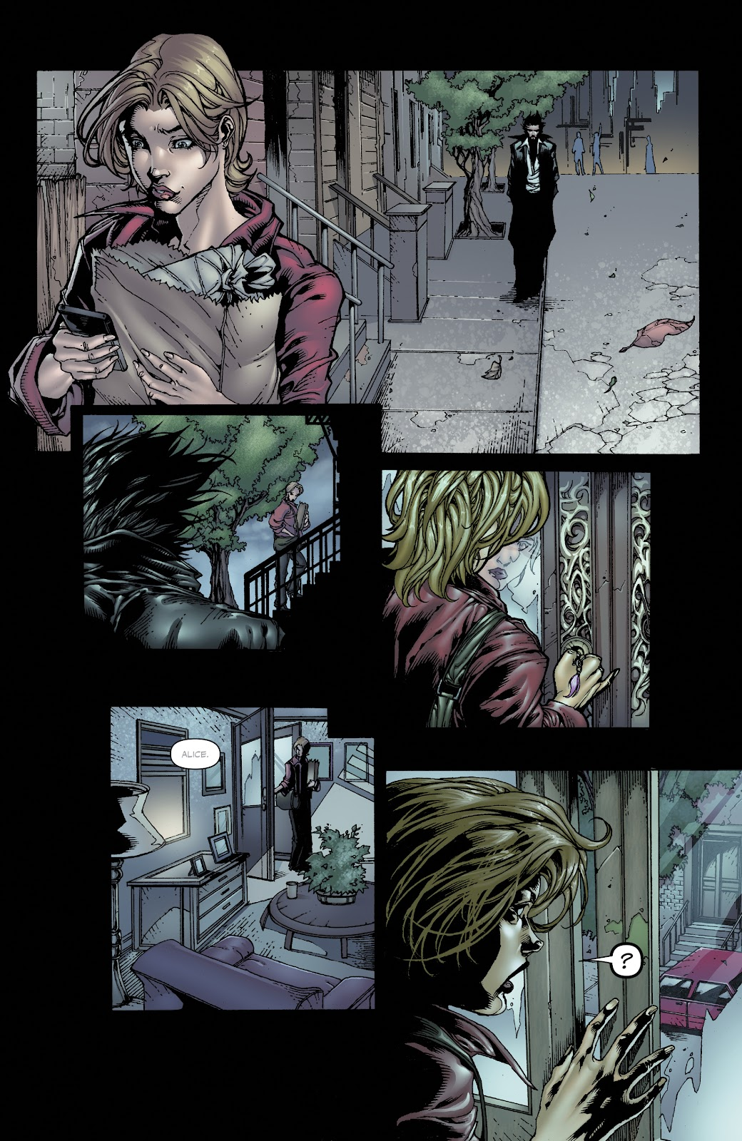 Read online Witchblade: Shades of Gray comic -  Issue #1 - 14