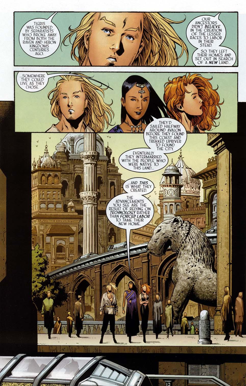 Read online Scion comic -  Issue #32 - 10