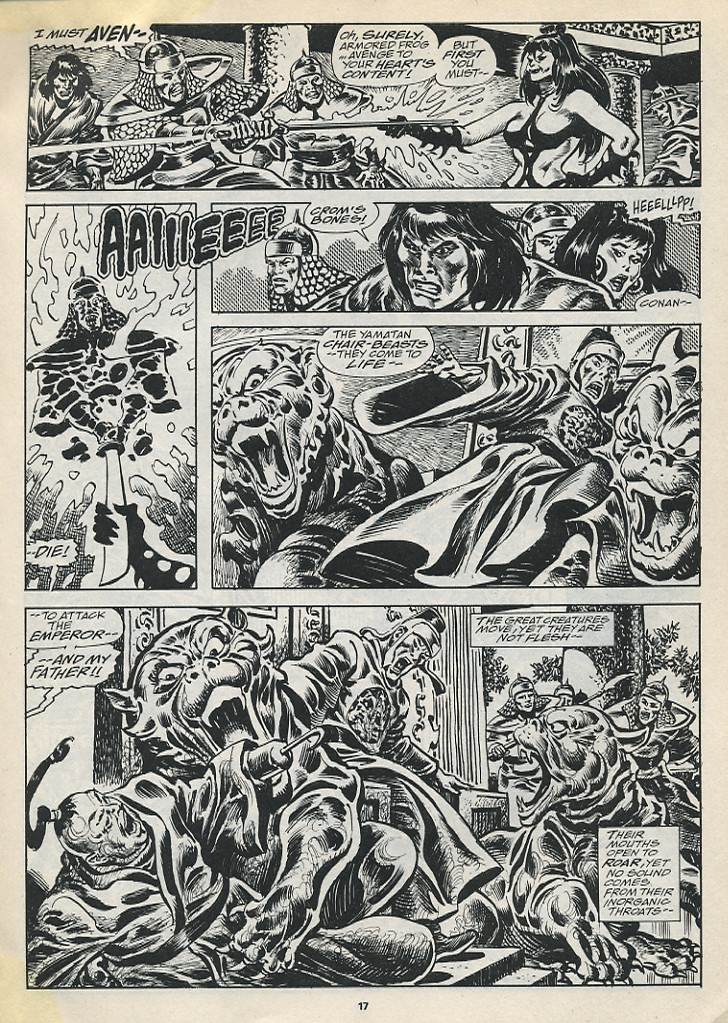The Savage Sword Of Conan Issue #194 #195 - English 19