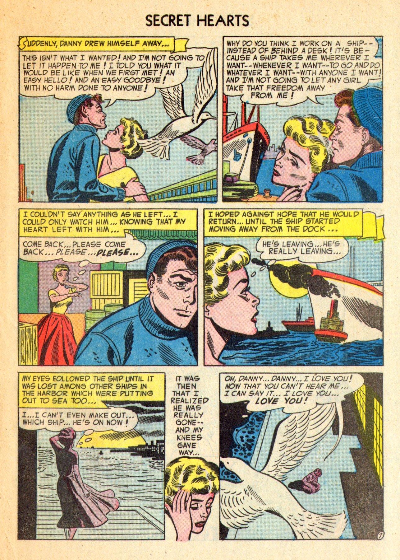Read online Secret Hearts comic -  Issue #18 - 33