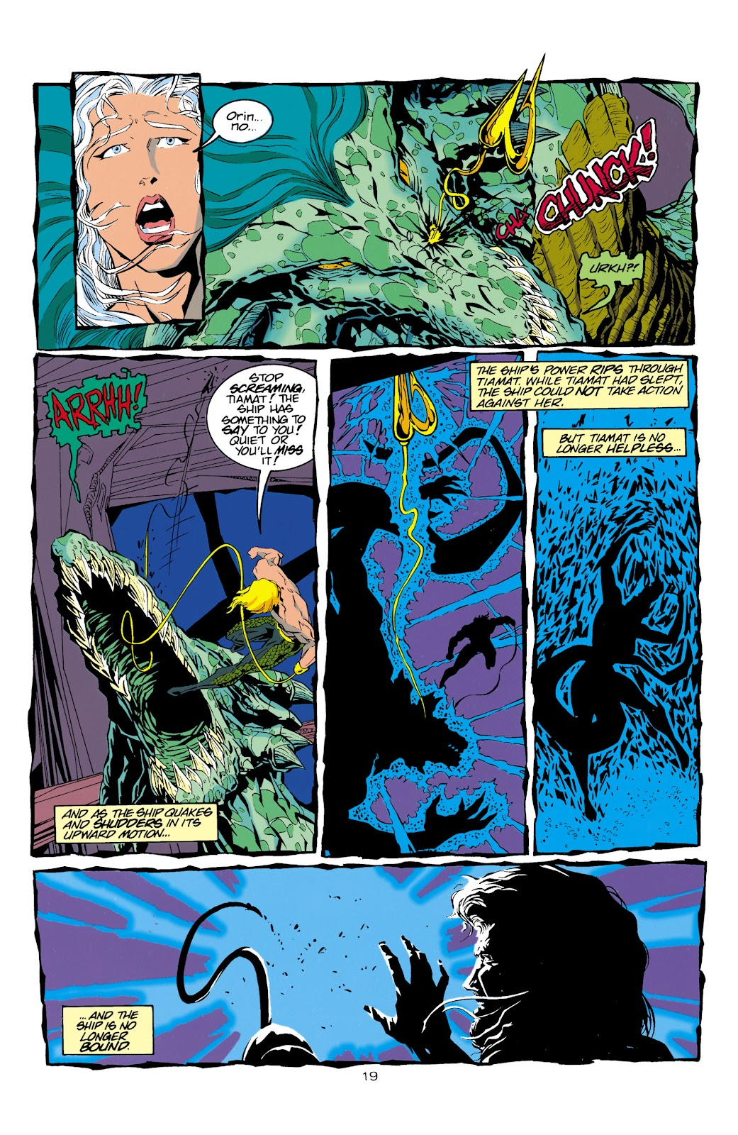 Aquaman (1994) Issue #15 #21 - English 19