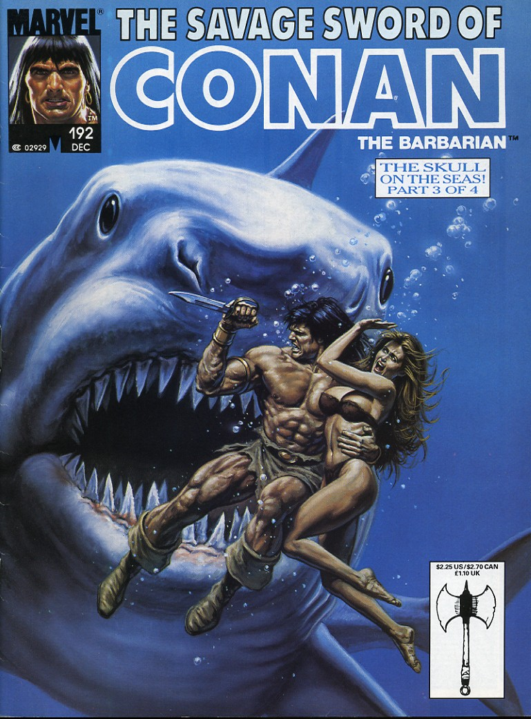 The Savage Sword Of Conan Issue #192 #193 - English 1