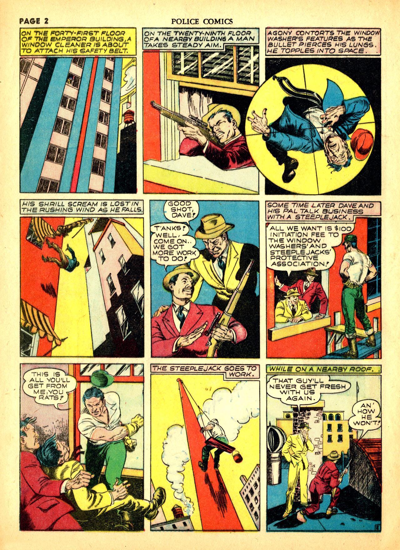 Police Comics #1 #127 - English 5