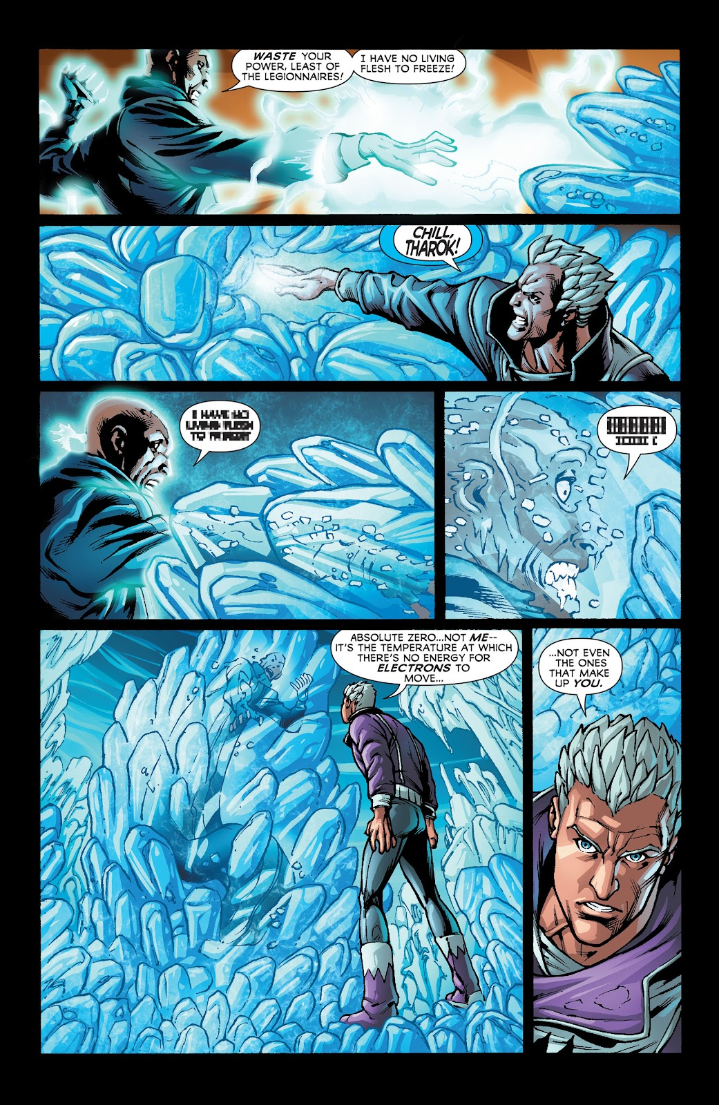 Legion of Super-Heroes (2011) Issue #22 #23 - English 19