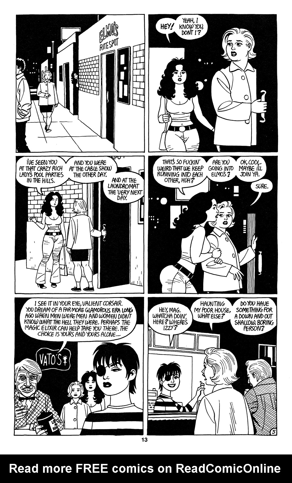 Read online Love and Rockets (2001) comic -  Issue #2 - 15