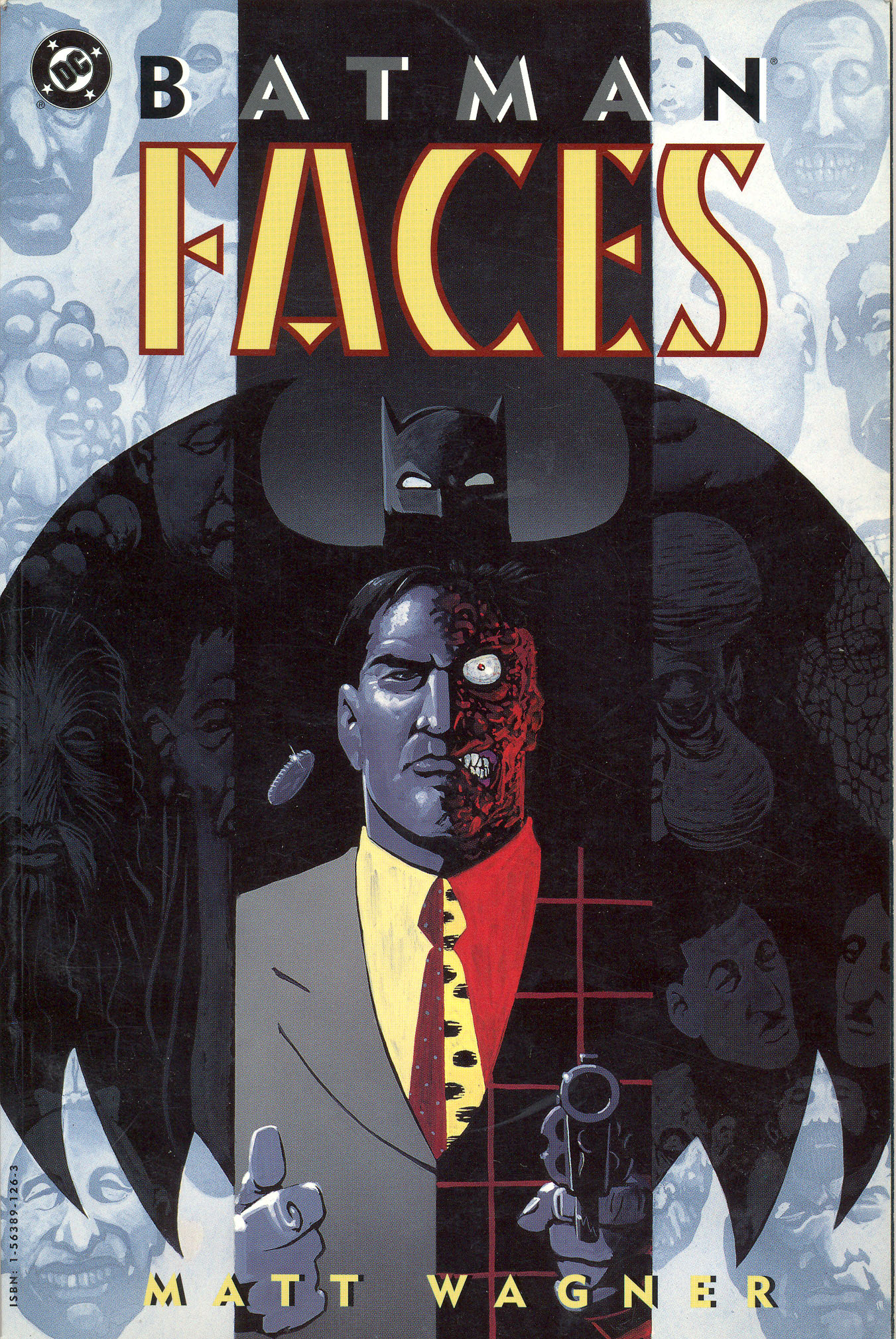 Batman: Faces Full Page 1