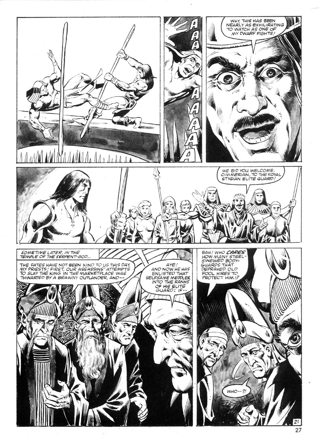 The Savage Sword Of Conan Issue #94 #95 - English 26