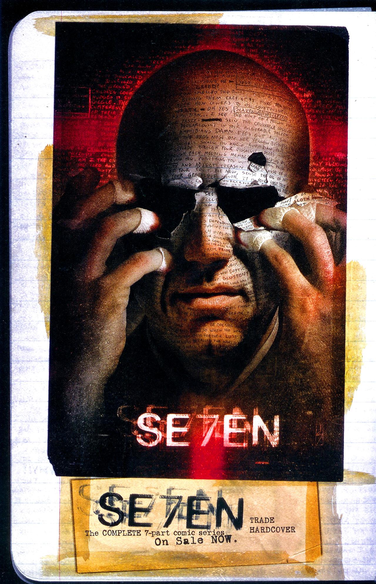 Read online Se7en comic -  Issue #7 - 31