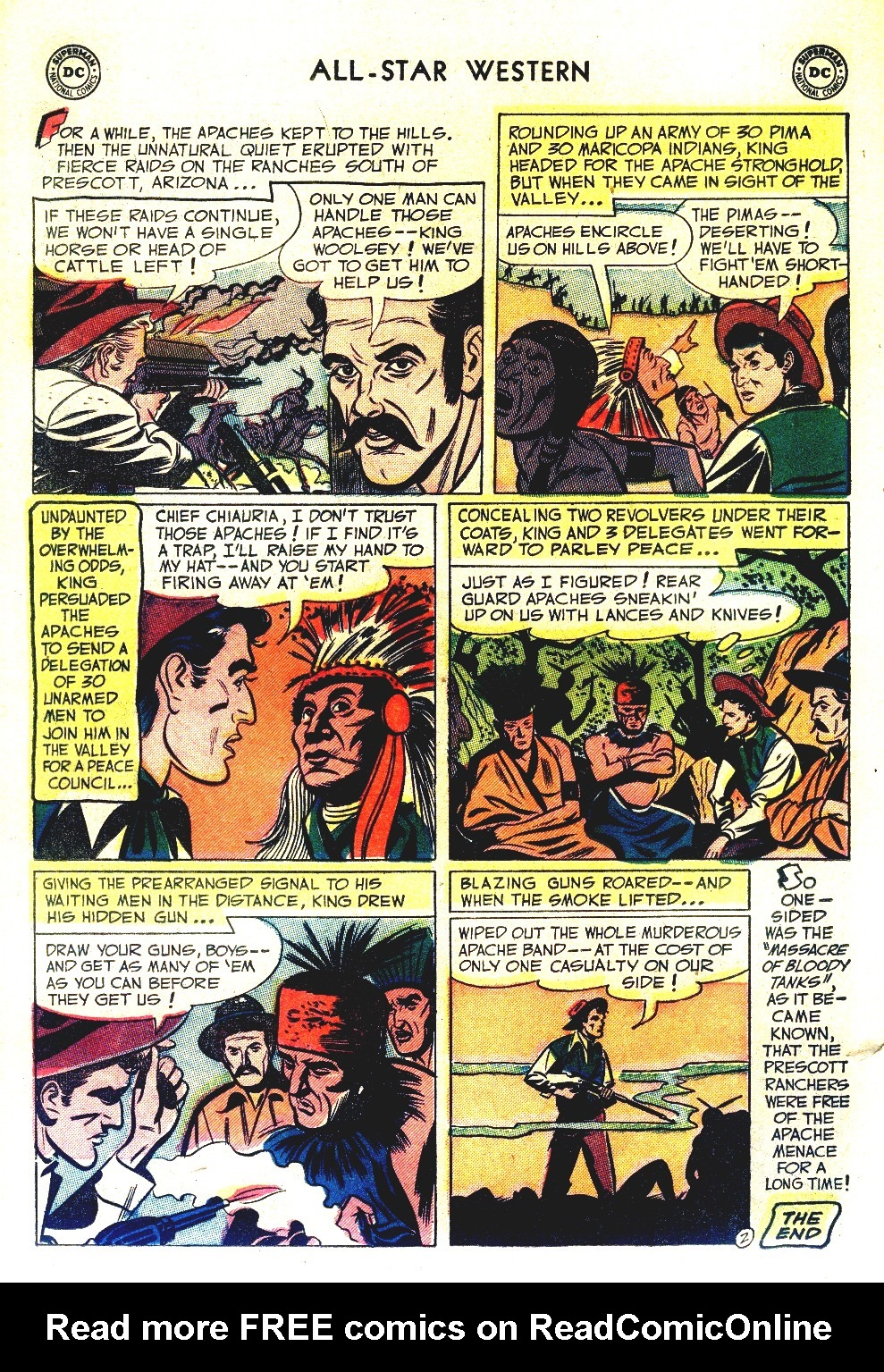 Read online All-Star Western (1951) comic -  Issue #66 - 26