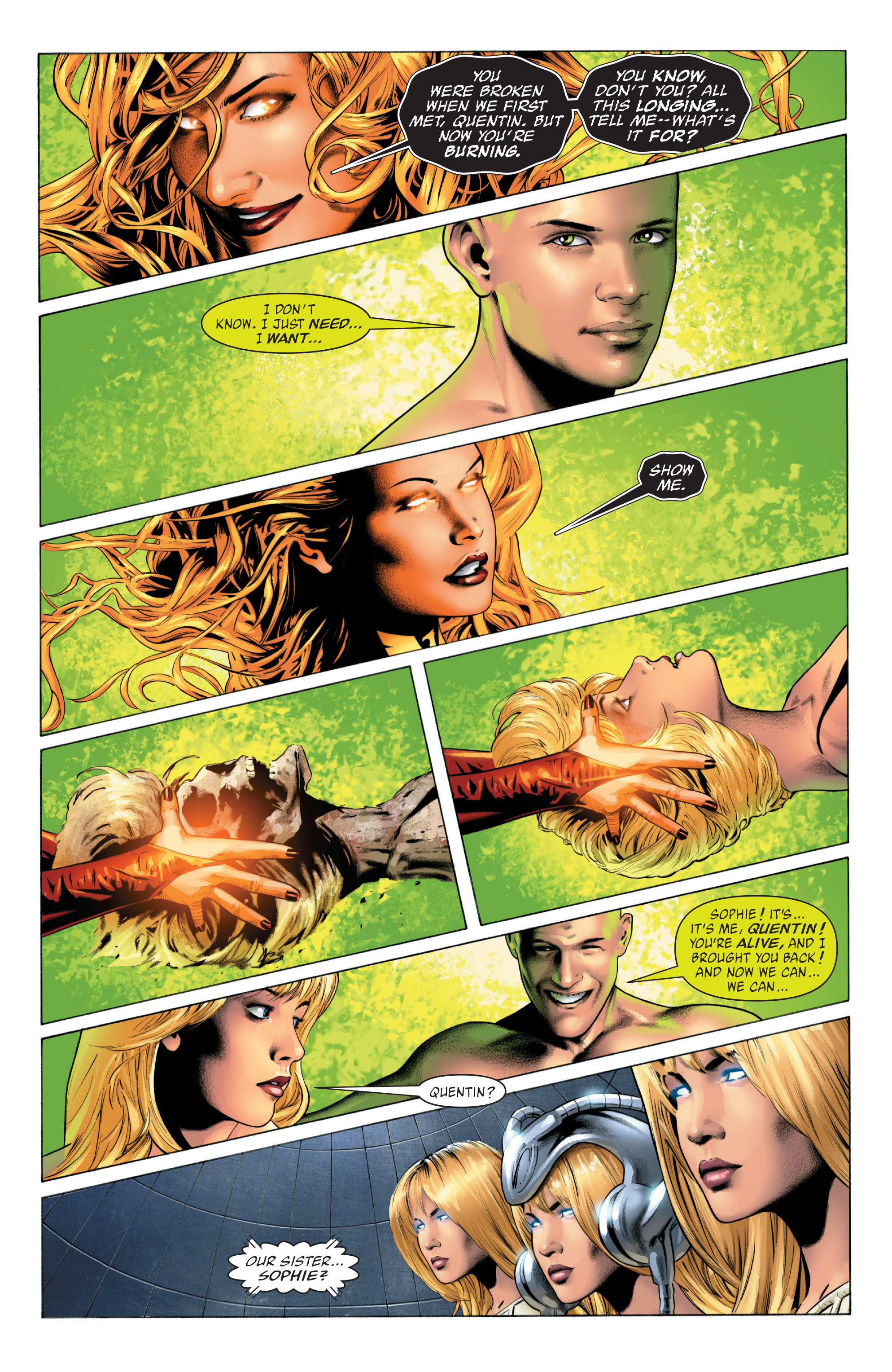 Read online X-Men: Phoenix - Endsong comic -  Issue #5 - 9