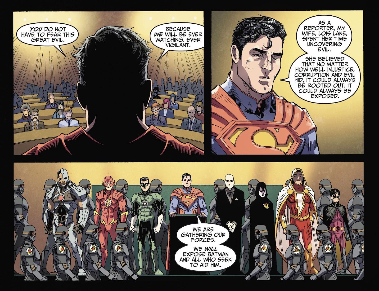 Injustice: Gods Among Us [I] Issue #36 #37 - English 21