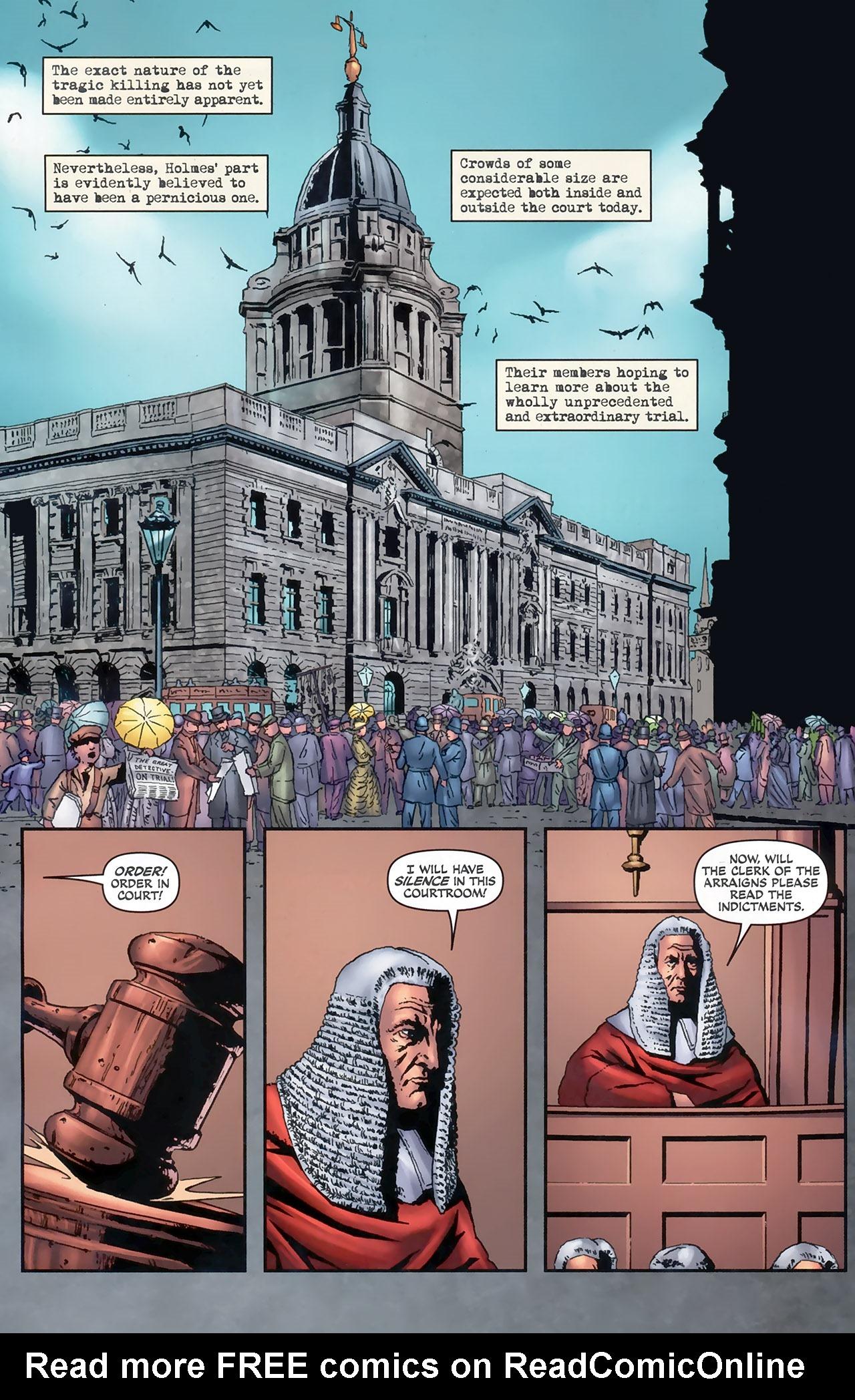 Read online Sherlock Holmes (2009) comic -  Issue #5 - 4