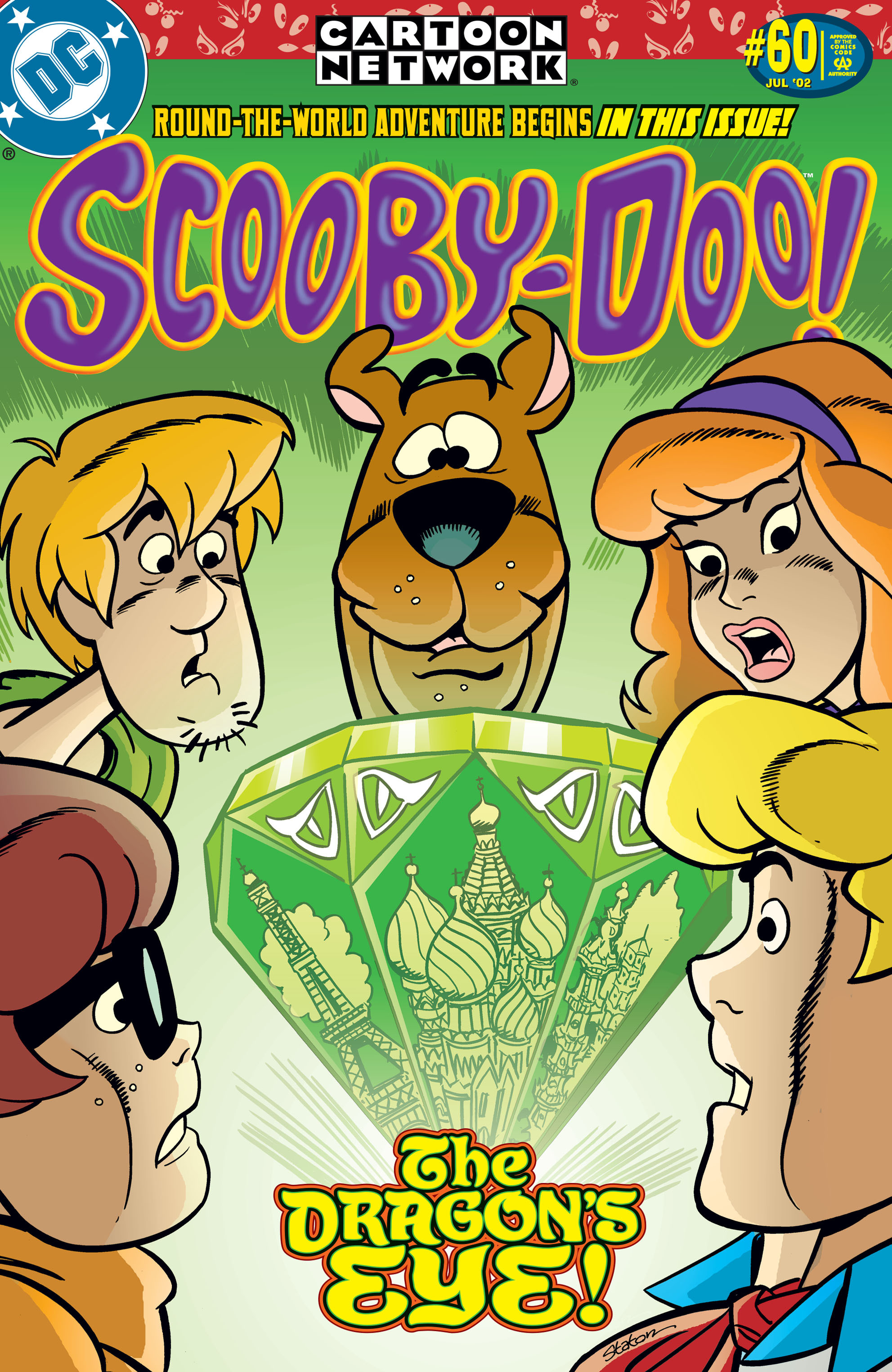 Read online Scooby-Doo (1997) comic -  Issue #60 - 1