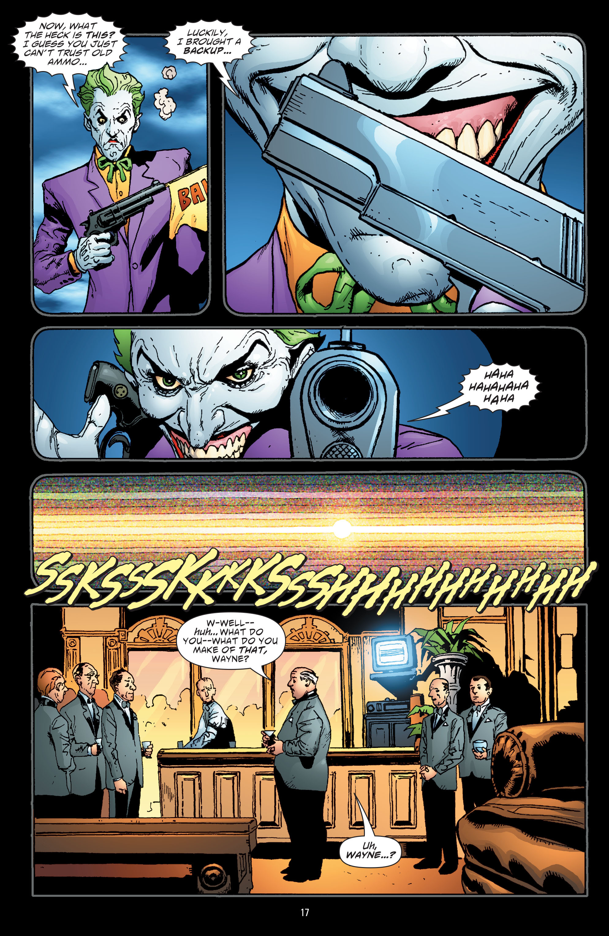 Batman: The Man Who Laughs chap 1 pic 18