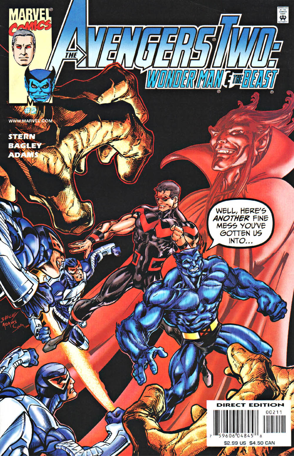 Avengers Two: Wonder Man and Beast 2 Page 1