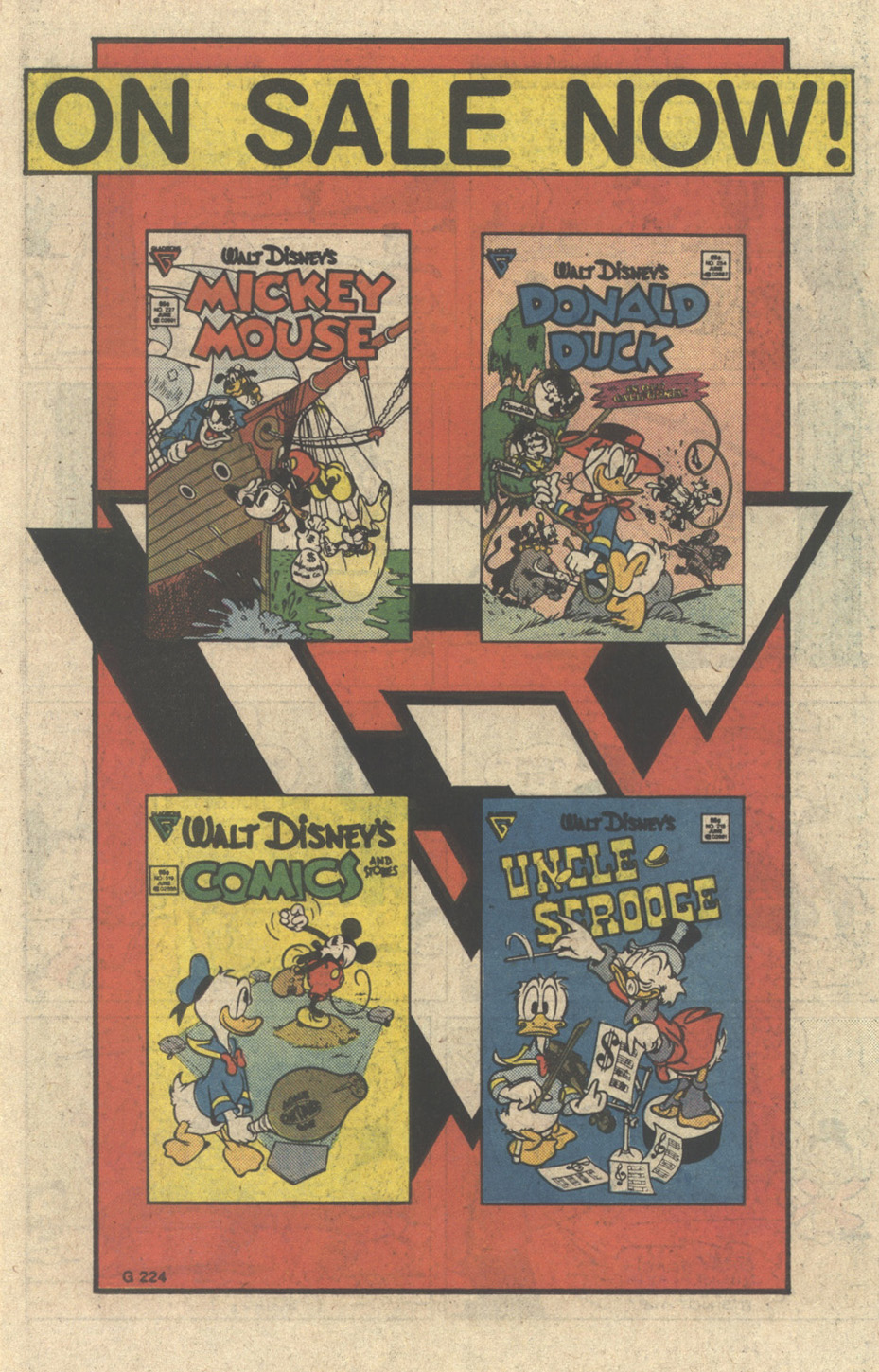 Uncle Scrooge (1953) Issue #218 #218 - English 11