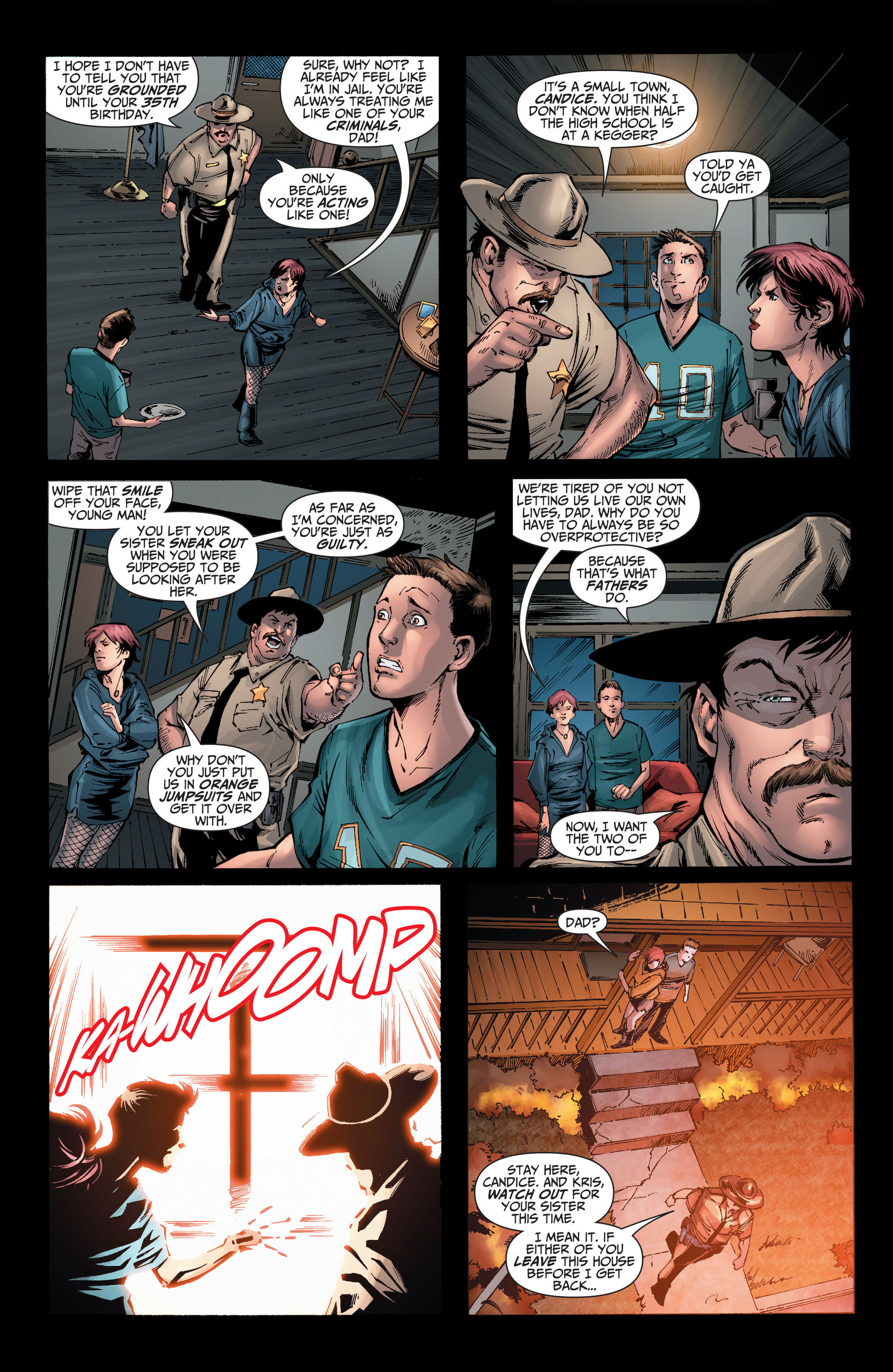 Read online The Ravagers comic -  Issue #8 - 3