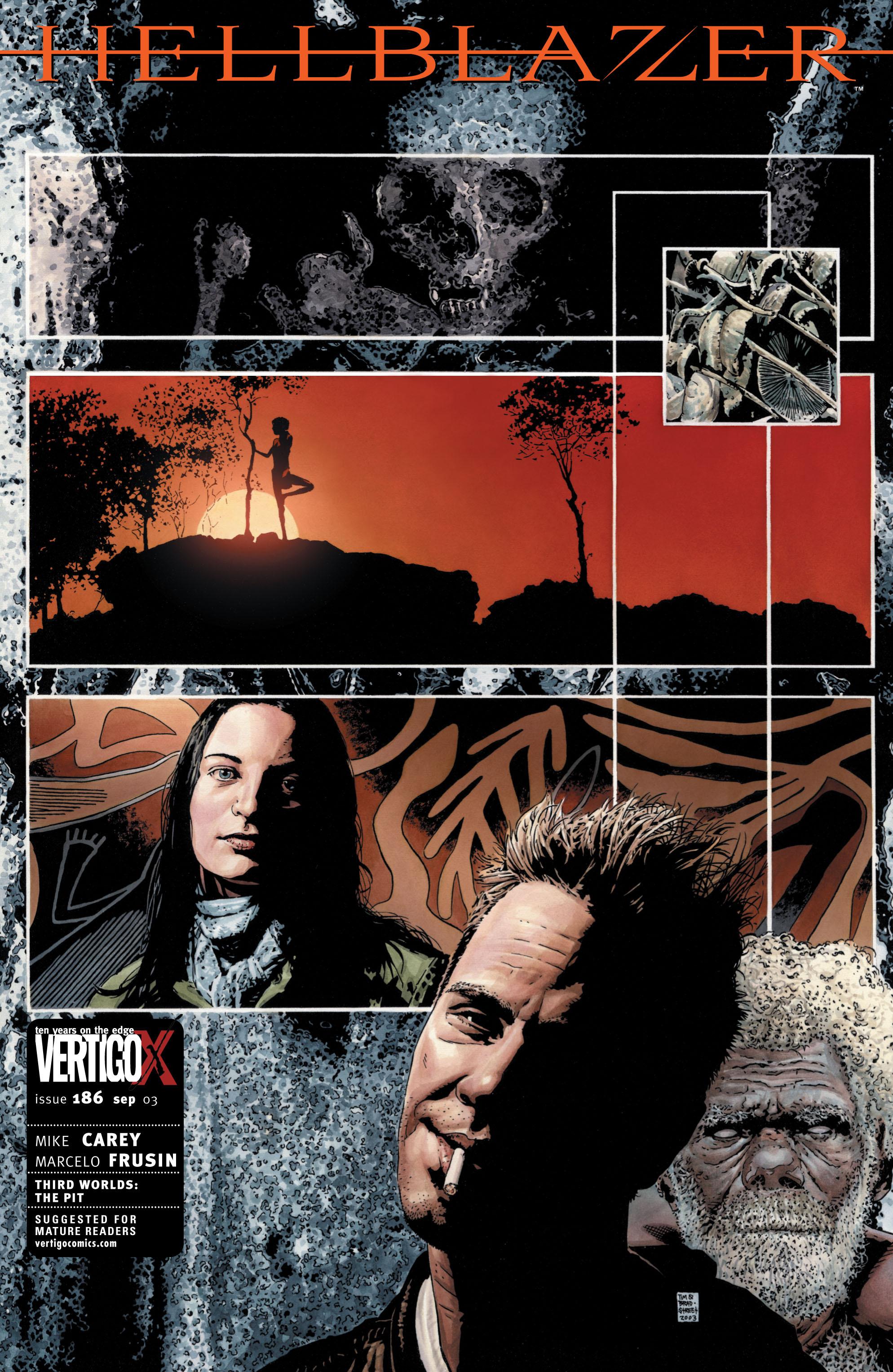 Hellblazer 186 Page 1
