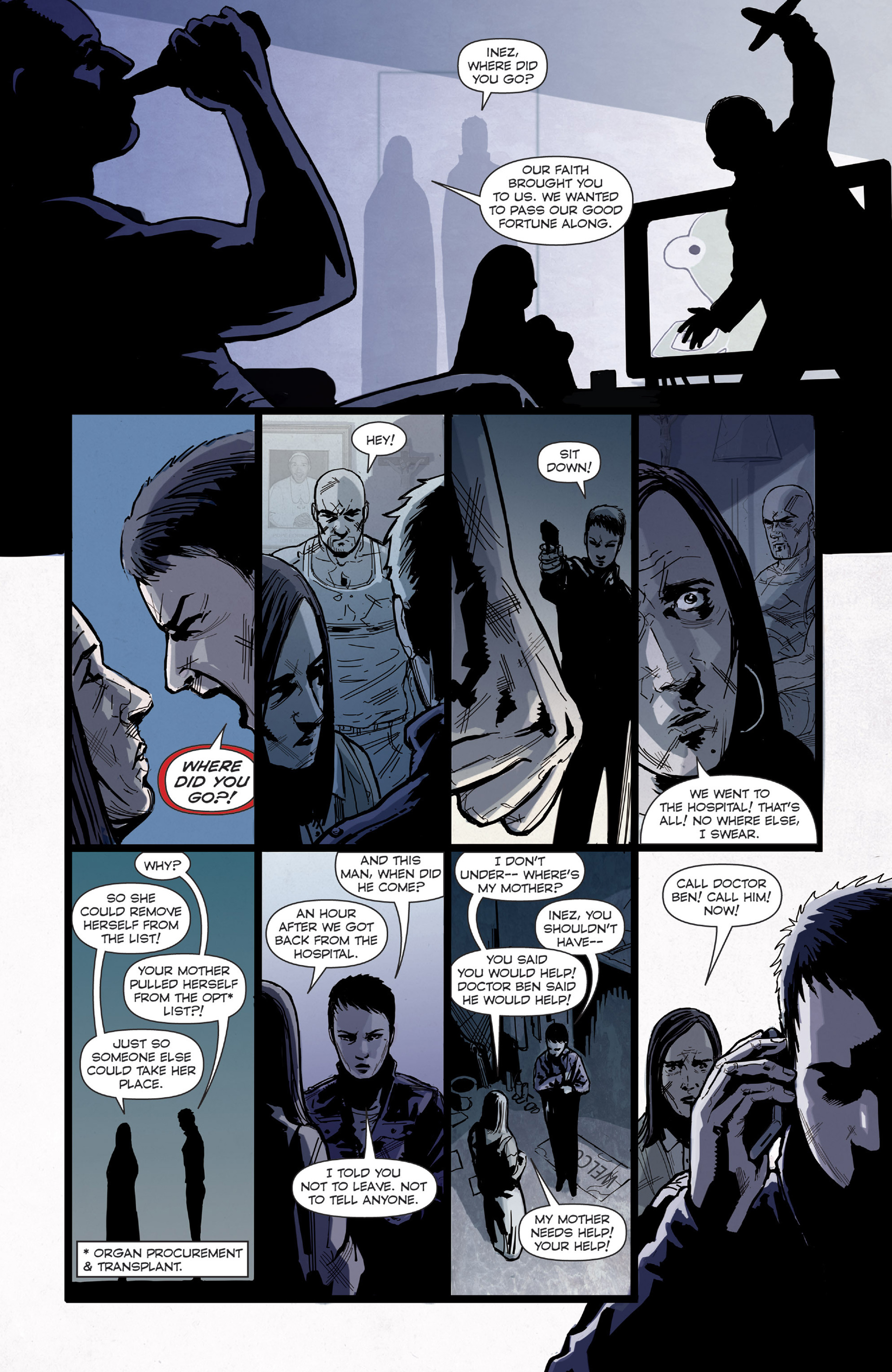 Read online Harvest comic -  Issue #4 - 22