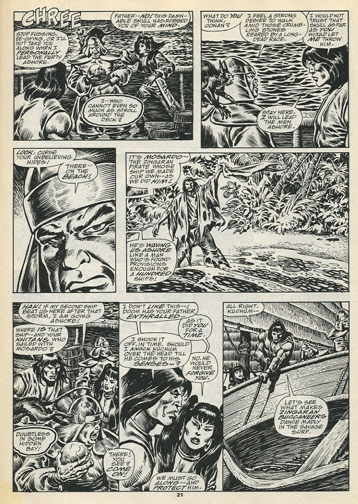 The Savage Sword Of Conan Issue #192 #193 - English 23