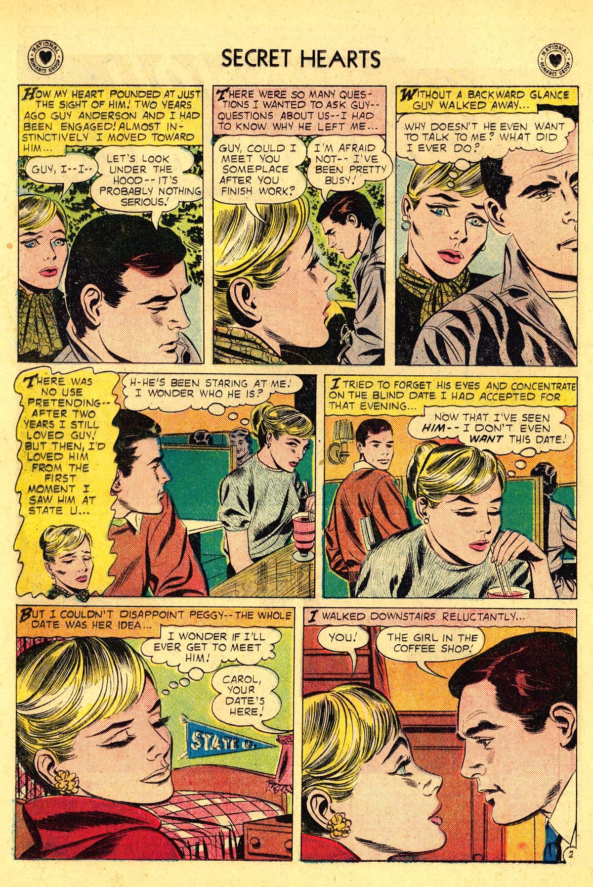 Read online Secret Hearts comic -  Issue #54 - 4