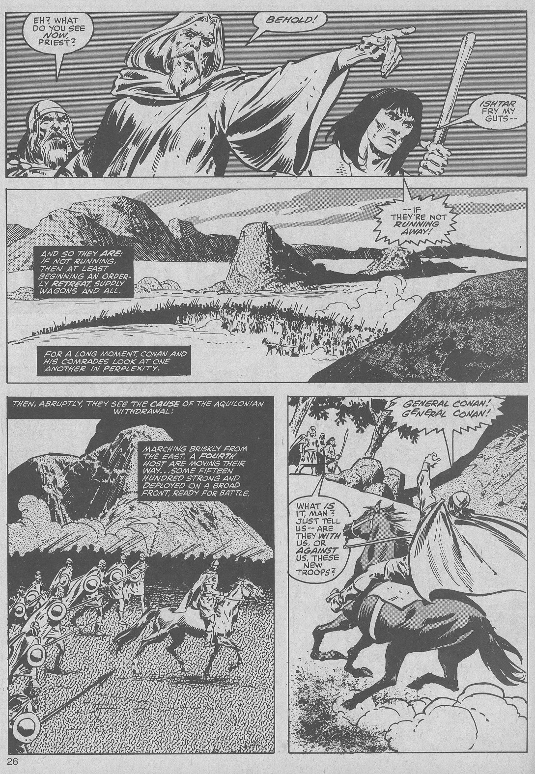 The Savage Sword Of Conan Issue #50 #51 - English 26
