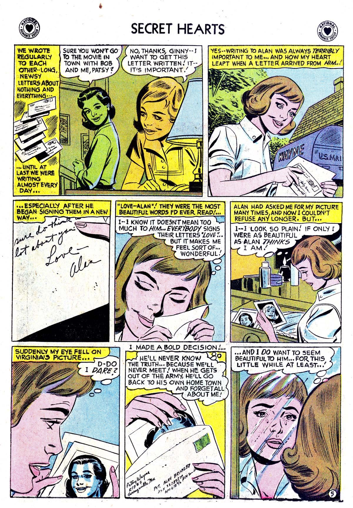 Read online Secret Hearts comic -  Issue #42 - 14