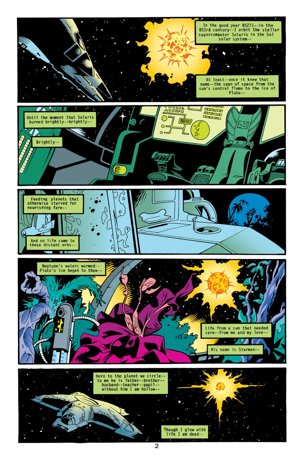 Starman (1994) Issue #1000000 #83 - English 3