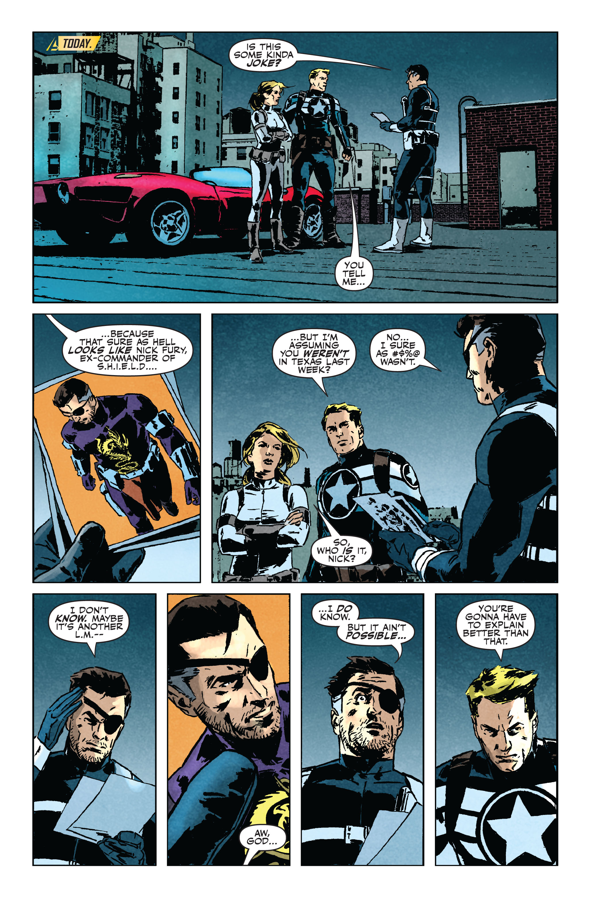 Read online Secret Avengers (2010) comic -  Issue #5 - 7
