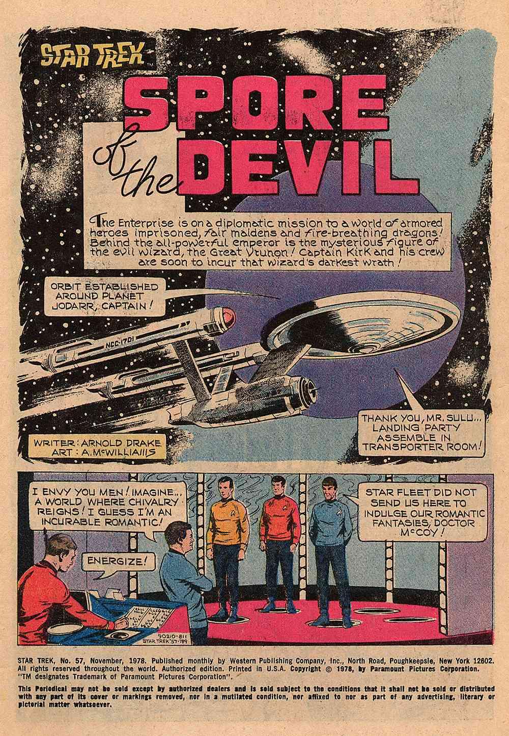 Star Trek (1967) #57 #57 - English 2