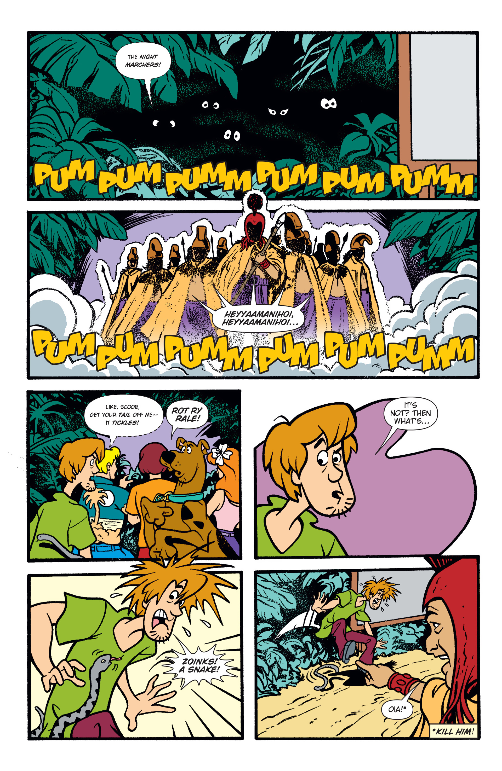 Read online Scooby-Doo: Where Are You? comic -  Issue #47 - 20
