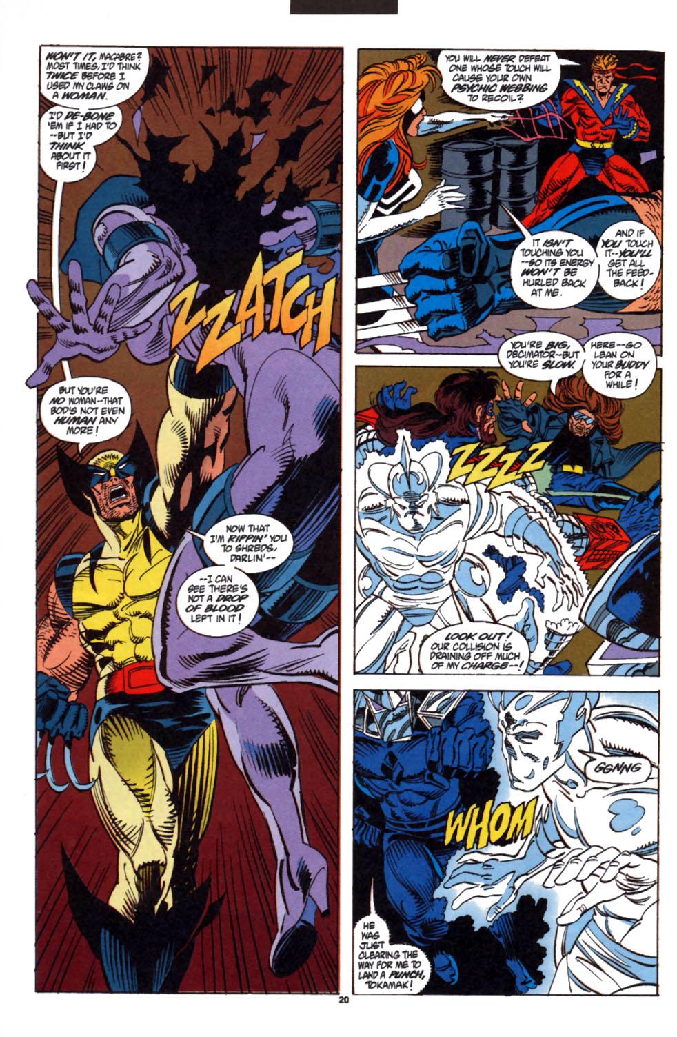 Read online Secret Defenders comic -  Issue #3 - 17