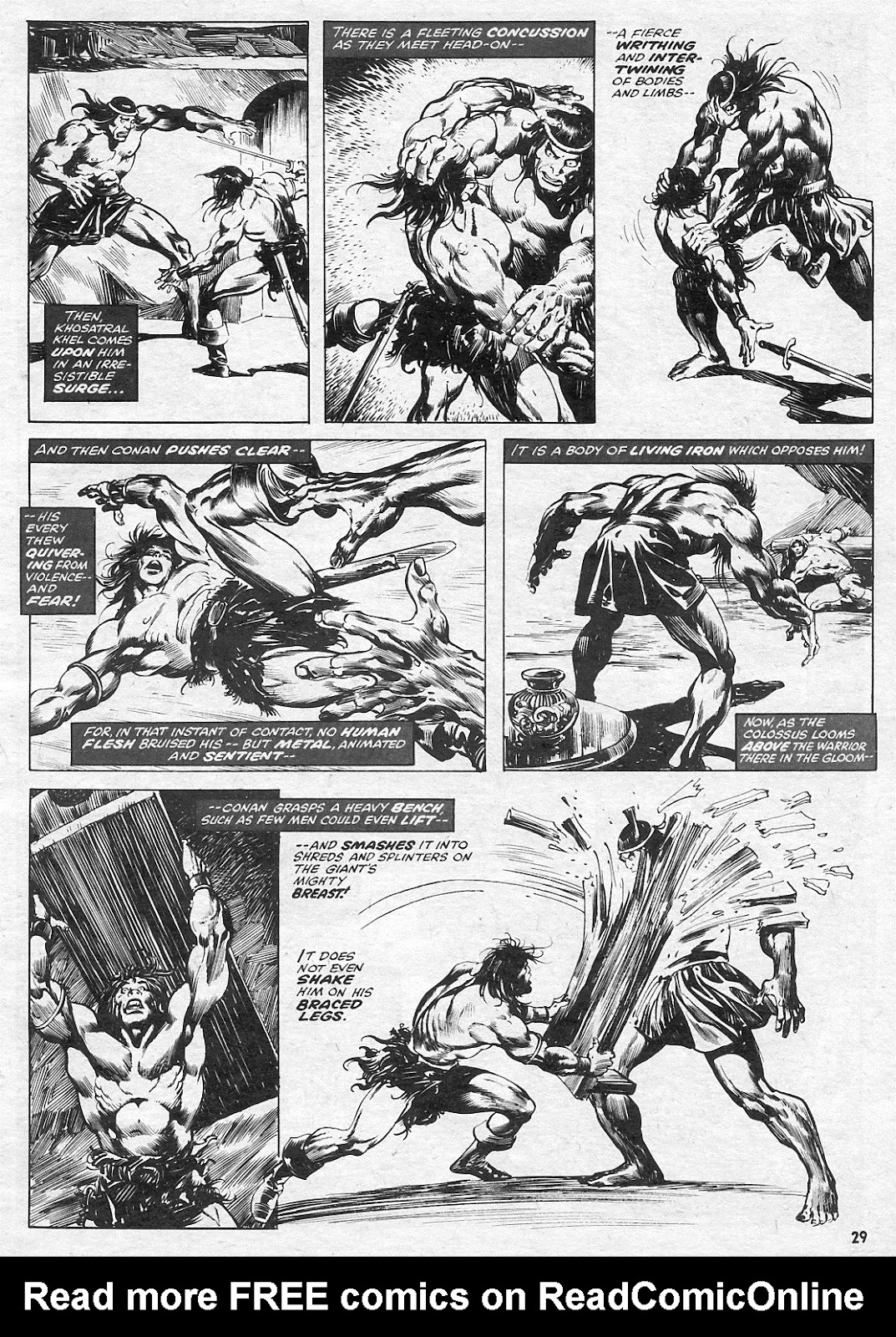 The Savage Sword Of Conan Issue #15 #16 - English 29