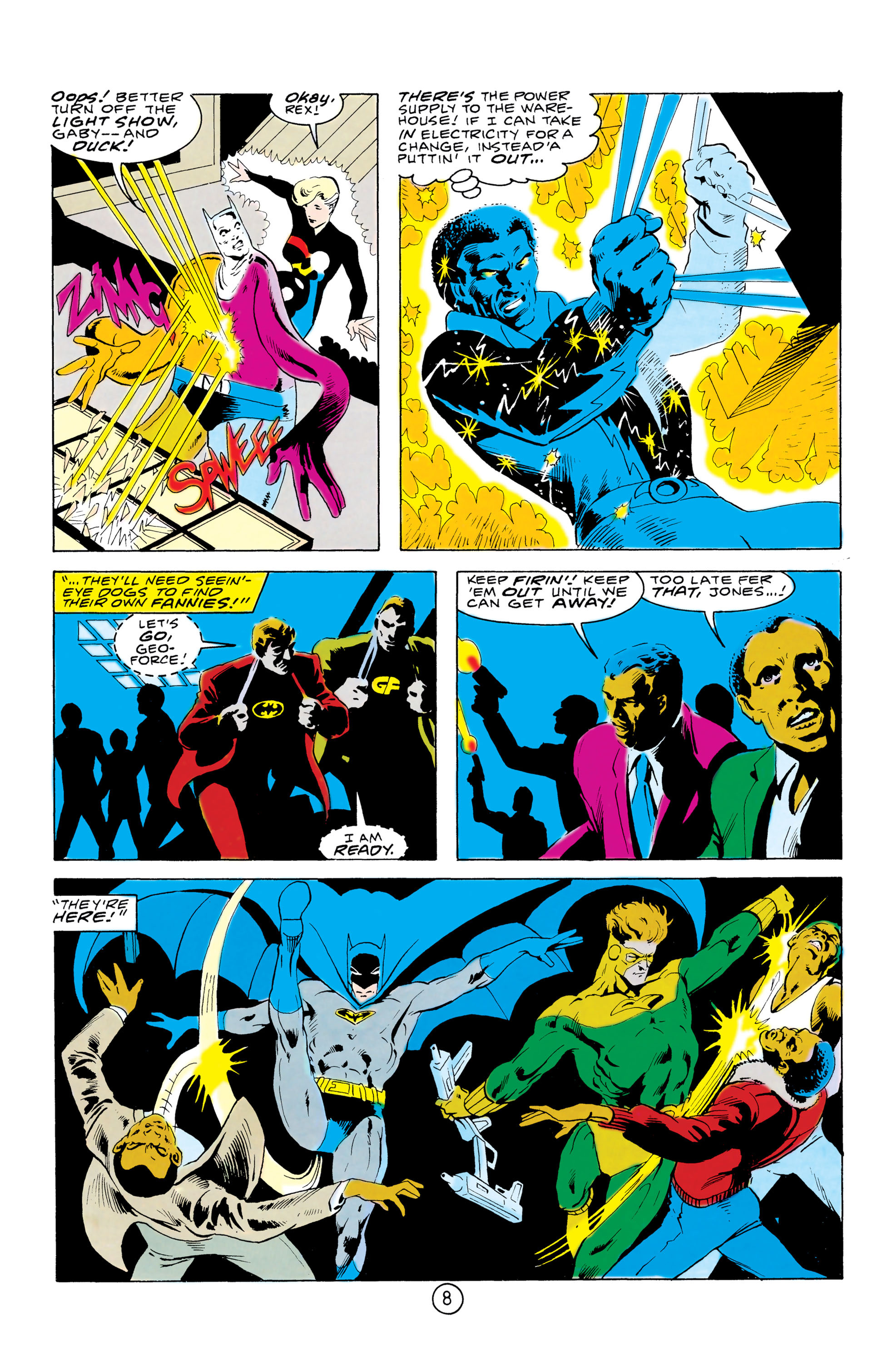 Batman and the Outsiders (1983) 32 Page 8