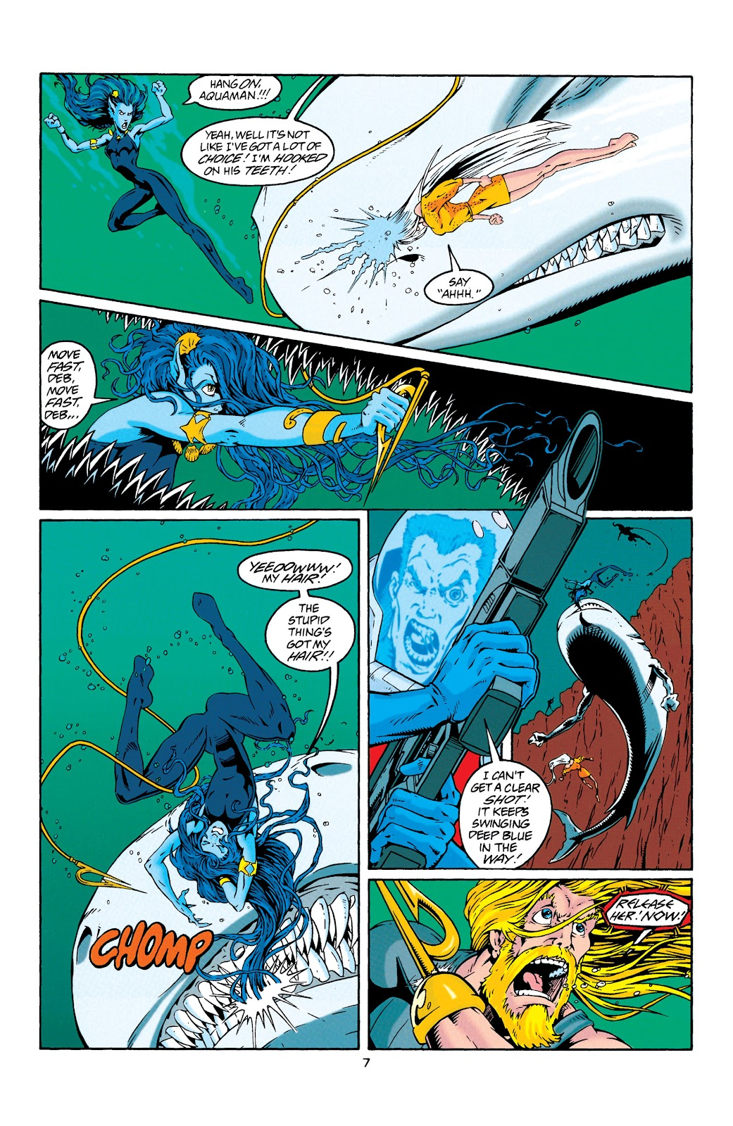 Aquaman (1994) Issue #29 #35 - English 7