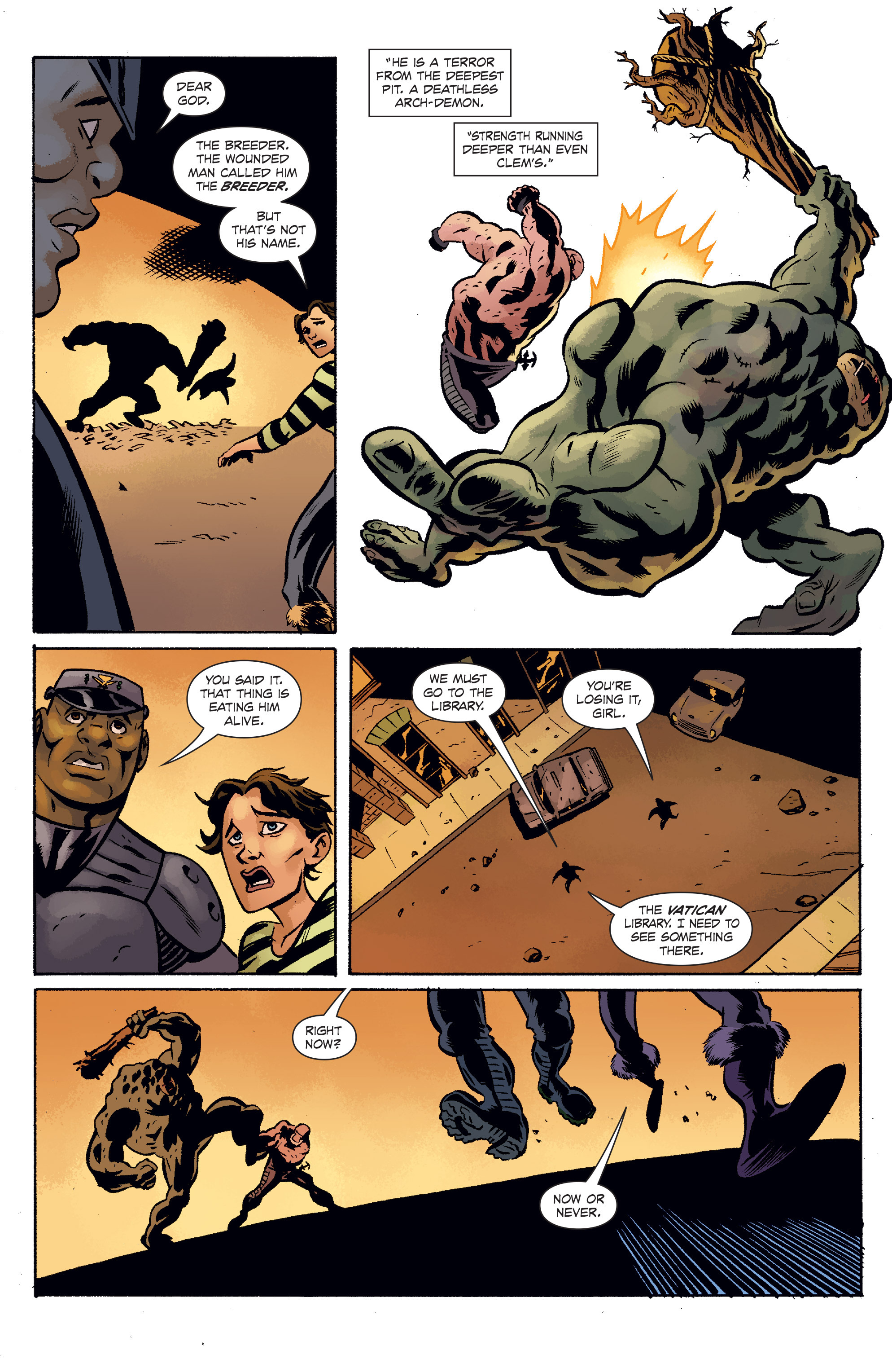 Read online The Anchor comic -  Issue # TPB 1 - 84