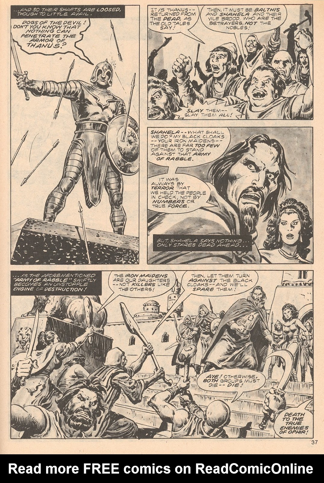 The Savage Sword Of Conan Issue #68 #69 - English 37