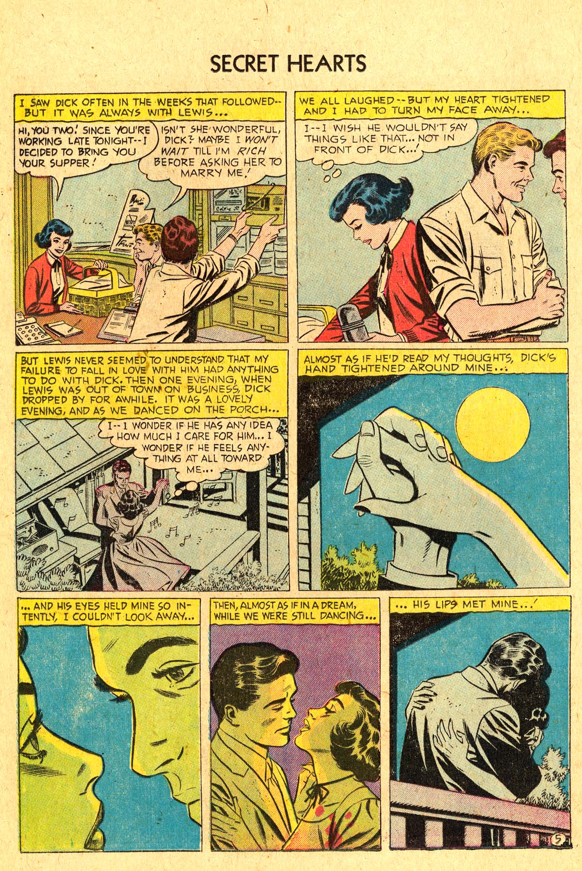 Read online Secret Hearts comic -  Issue #36 - 16